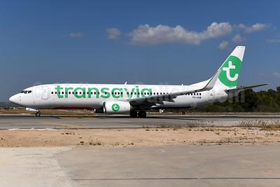 Transavia Airlines (Netherlands) Boeing 737-8K2 WL PH-HSW (msn 37160) PMI (Ton Jochems). Image: 955151.