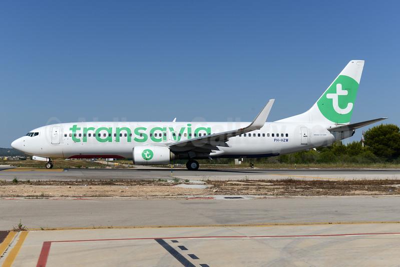 Transavia Airlines (Netherlands) Boeing 737-8K2 WL PH-HZW (msn 29345) PMI (Ton Jochems). Image: 930149.