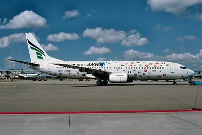 "2002 ""Goede Reis ANWB"" (Have a nice journey) logo jet"