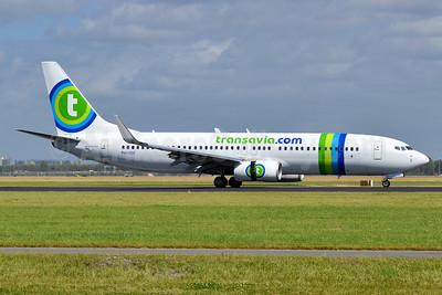 Transavia Airlines (Transavia.com) (Netherlands) Boeing 737-8K2 WL PH-HSF (msn 39261) AMS (Tony Storck). Image: 939047.