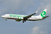 Transavia Airlines (Netherlands) Boeing 737-8EH WL PH-GUV (msn 39609) AMS (Tony Storck). Image: 939042.