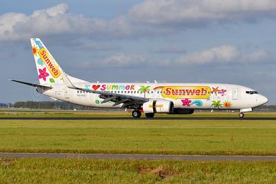 "Transavia's 2013 ""Sunweb - I love summer"" special livery"