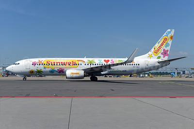"Transavia Airlines' updated 2014 ""I love summer"" Sunweb livery"