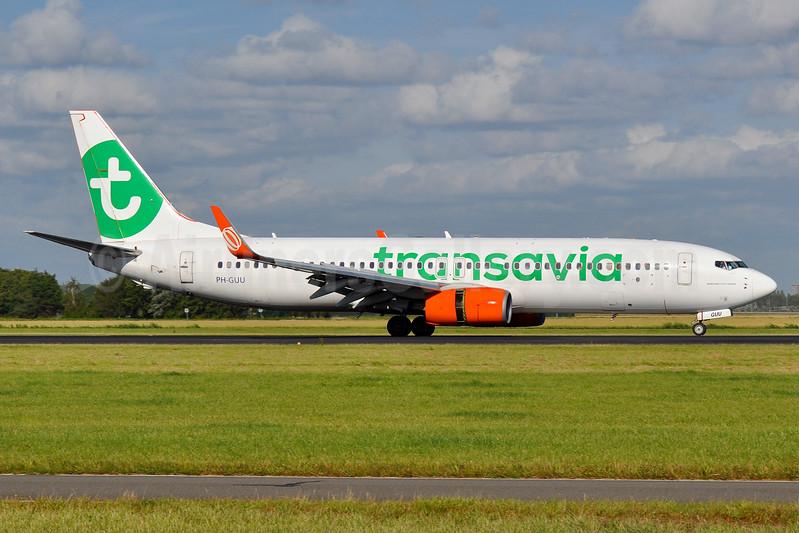 Transavia Airlines (Netherlands) Boeing 737-8EH WL PH-GUU (msn 39607) AMS (Tony Storck). Image: 939043.