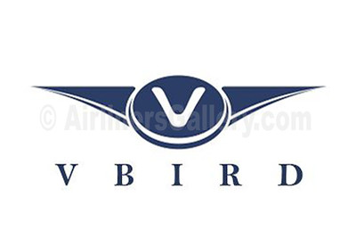 1. V Bird Airlines logo