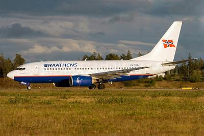 Braathens Boeing 737-705 LN-TUM (msn 29098) ARN (Stefan Sjogren). Image: 908442.