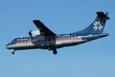 Coast Air (Norway) ATR 42-320 LN-FAP (msn 110) MAN (Rob Skinkis). Image: 950855.
