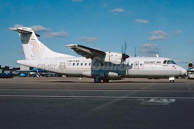 Coast Air (Norway) ATR 42-300 LN-FAO (msn 148) AMS (Ton Jochems). Image: 955362.