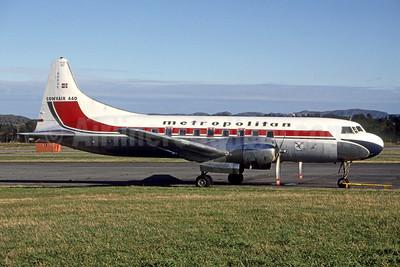Metropolitan (Norsk Metropolitan Club) Convair 440-75 LN-KLK (msn 357) (Bruce Drum Collection). Image: 952443.