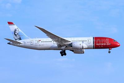 Norwegian Air Shuttle (Norwegian.com) (Norwegian Long Haul) Boeing 787-9 Dreamliner LN-LNH (msn 36526) (H.C. Andersen, Danish Author) LAX (Michael B. Ing). Image: 939027.