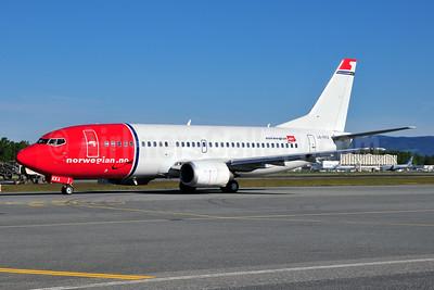 Norwegian Air Shuttle (Norwegian.no) Boeing 737-33A LN-KKA (msn 25033) OSL (Ton Jochems). Image: 955550.