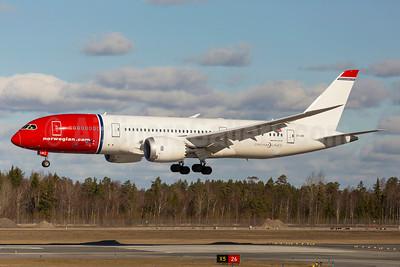 Norwegian Air Shuttle (Norwegian.com) (Norwegian Long Haul) Boeing 787-8 Dreamliner EI-LNC (msn 34795) ARN (Stefan Sjogren). Image: 922419.