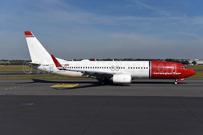 Norwegian Air Shuttle (Norwegian.com) Boeing 737-8JP WL LN-NHF (msn 42075) PRG (Ton Jochems). Image: 946288.