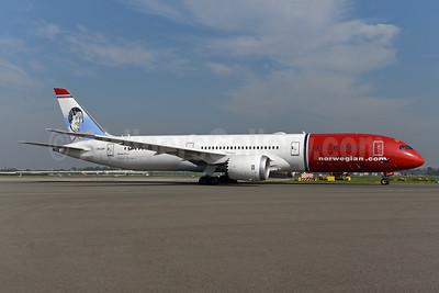 Norwegian Air Shuttle (Norwegian.com) (Norwegian Long Haul) Boeing 787-8 Dreamliner LN-LNP (msn 63310) (Amy Johnson). Image: 945153.