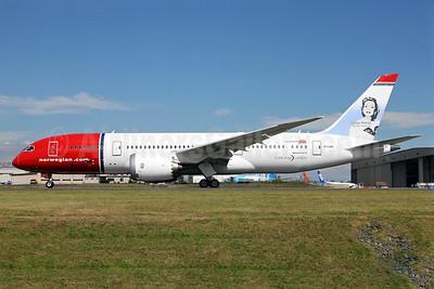 Norwegian Air Shuttle (Norwegian.com) (Norwegian Long Haul) Boeing 787-8 Dreamliner EI-LNA (msn 35304) (Sonja Henie) PAE (Nick Dean). Image: 912747.