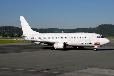 Norwegian Air Shuttle (Norwegian.no) Boeing 737-33A LN-KKB (msn 27457) TRD (Ton Jochems). Image: 955551.
