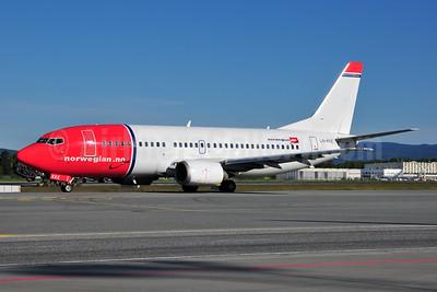 Norwegian Air Shuttle (Norwegian.no) Boeing 737-33A LN-KKE (msn 27285) OSL (Ton Jochems). Image: 955552.