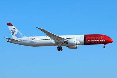 Norwegian Air Shuttle (Norwegian.com) (Norwegian Long Haul) Boeing 787-9 Dreamliner LN-LNL (msn 37931) (Kirsten Flagstad, Norwegian Opera Singer) LAX (Michael B. Ing). Image: 940064.