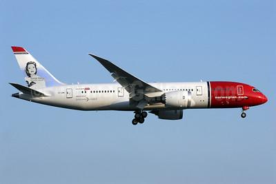Norwegian Air Shuttle (Norwegian.com) (Norwegian Long Haul) Boeing 787-8 Dreamliner EI-LNA (msn 35304) (Sonja Henie) LGW (Antony J. Best). Image: 912860.