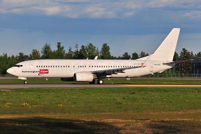 Norwegian Air Shuttle (Norwegian.com) Boeing 737-8BK WL LN-KHD (msn 33022) OSL (Ton Jochems). Image: 955428.