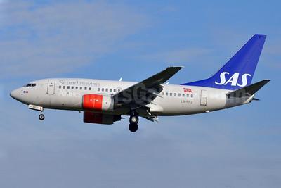 Scandinavian Airlines-SAS (SAS Norge) Boeing 737-683 LN-RPZ (msn 28293) BRU (Karl Cornil). Image: 905469.