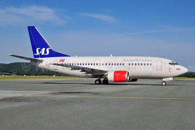 Scandinavian Airlines-SAS (SAS Norge) Boeing 737-505 LN-BUD (msn 25794) TRD (Ton Jochems). Image: 953505.