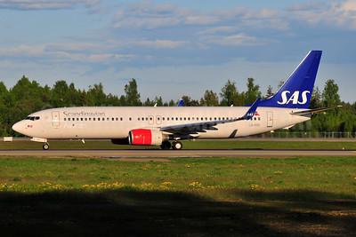 Scandinavian Airlines-SAS (SAS Norge) Boeing 737-86N WL LN-RGE (msn 38037) OSL (Ton Jochems). Image: 953507.