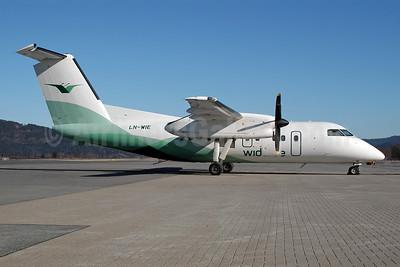 Wideroe (Widerøe's Flyveselskap AS) Bombardier DHC-8-103 Dash 8 LN-WIE (msn 371) TRD (Ton Jochems). Image: 953118.