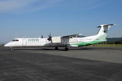 Wideroe (Widerøe's Flyveselskap AS) Bombardier DHC-8-402 (Q400) LN-WDC (msn 4071) TRD (Ton Jochems). Image: 903916.
