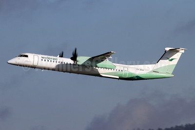 Wideroe (Widerøe's Flyveselskap AS) Bombardier DHC-8-402 (Q400) LN-WDK (msn 4337) ZRH (Andi Hiltl). Image: 944734.