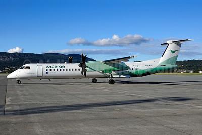 Wideroe (Widerøe's Flyveselskap AS) Bombardier DHC-8-402 (Q400) LN-WDI (msn 4286) TRD (Ton Jochems). Image: 953125.
