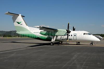 Wideroe (Widerøe's Flyveselskap AS) Bombardier DHC-8-103 Dash 8 LN-ILS (msn 396) TRD (Ton Jochems). Image: 953116.