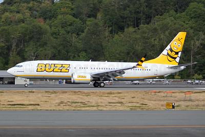 Buzz by Ryanair (2nd) Boeing 737-8 MAX 8 (200) SP-RZF (msn 62318) BFI (Joe G. Walker). Image: 954919.
