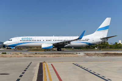 Enter Air Boeing 737-8Q8 WL SP-ENX (msn 30627) PMI (Ton Jochems). Image: 938301.