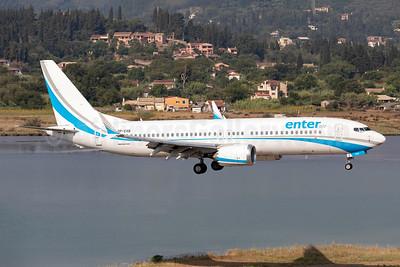 Enter Air Boeing 737-8 MAX 8 SP-EXB (msn 64296) CFU (Stefan Sjogren). Image: 954488.