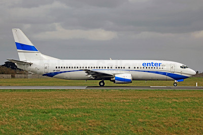 Enter Air Boeing 737-4C9 SP-ENF (msn 25429) DUB (SM Fitzwilliams Collection). Image: 920363.