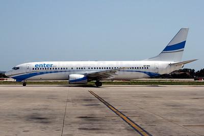 Enter Air Boeing 737-85F SP-ENZ (msn 28823) PMI (Javier Rodriguez). Image: 906268.
