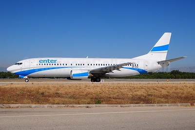Enter Air Boeing 737-43Q SP-ENI (msn 28489) AYT (Ton Jochems). Image: 954489.