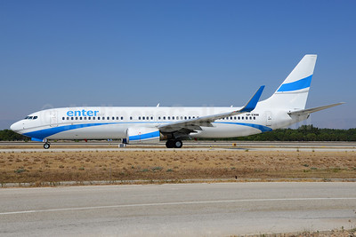 Enter Air Boeing 737-86J WL SP-ENW (msn 28073) AYT (Ton Jochems). Image: 920365.