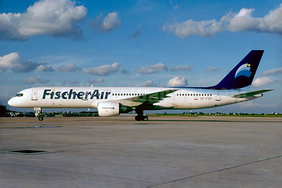 FischerAir Polska (PrimaCharter) Boeing 757-2Q8 SP-FVP (msn 24965) (Jacques Guillem Collection). Image: 932623.