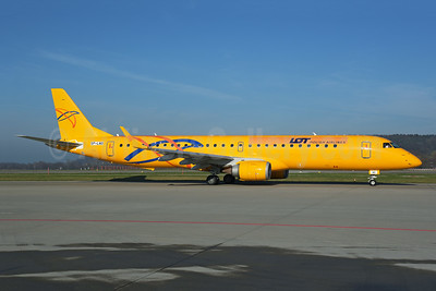 LOT Polish Airlines Embraer ERJ 190-200LR (ERJ 195) SP-LNO (msn 19000084) (Saratov Airlines colors) ZRH (Rolf Wallner). Image: 948515.