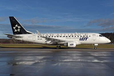 LOT Polish Airlines Embraer ERJ 170-100STD SP-LDK (msn 17000074) (Star Alliance) ZRH (Rolf Wallner). Image: 940471.