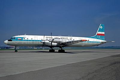 LOT Polskie Linie Lotnicze (LOT Polish Airlines) Ilyushin Il-18V SP-LSG (msn 185008603) LBG (Christian Volpati). Image: 948827.