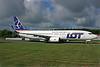 LOT's first Boeing 737-800, delivered on April 26, 2017