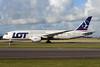 LOT Polish Airlines Boeing 787-8 Dreamliner SP-LRF (msn 35942) AMS (Ton Jochems). Image: 937089.