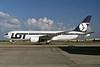 LOT Polish Airlines Boeing 767-25D ER SP-LOB (msn 24734) LHR. Image: 927430.