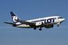 LOT Polish Airlines Boeing 737-55D SP-LKB (msn 27417) WAW (Jacek Fiszer). Image: 908432.