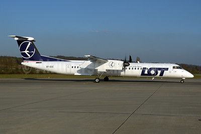 LOT Polish Airlines Bombardier DHC-8-402 (Q400) SP-EQC (msn 4408) ZRH (Rolf Wallner). Image: 949466.