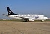 LOT Polish Airlines Boeing 737-55D SP-LKE (msn 27130) (Star Alliance) LHR (Dave Glendinning). Image: 908433.