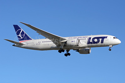 LOT Polish Airlines Boeing 787-8 Dreamliner SP-LRD (msn 35941) YYZ (TMK Photography). Image: 920522.